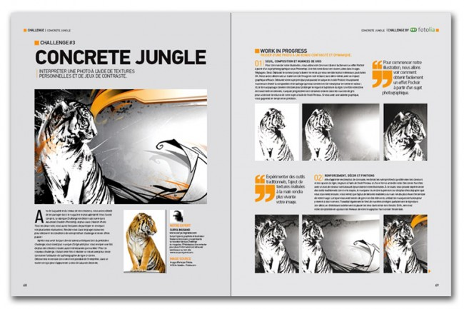 Concrete Jungle (publié dans Advanced Creation n°48)