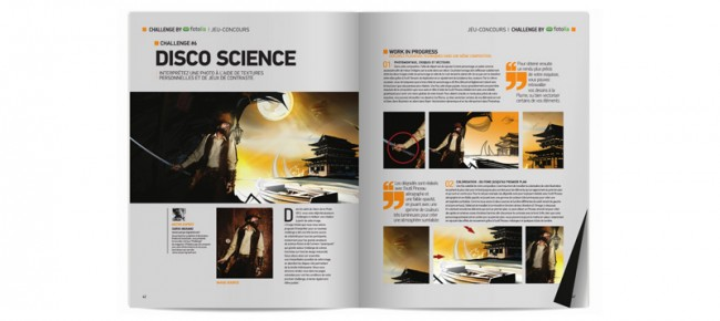 Disco Science (publié dans Advanced Creation n°54)