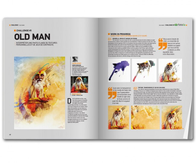 Old Man (publié dans Advanced Creation n°52)