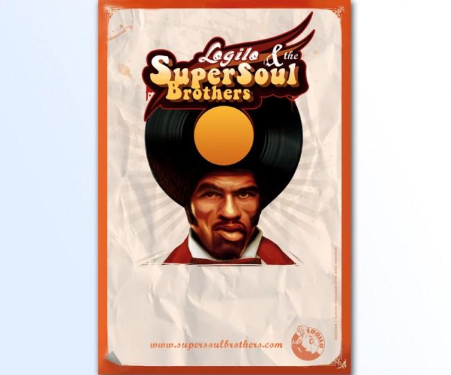 SuperSoul Brothers (Maquette de l'affiche | perso par Neopen)